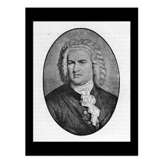 Johann Sebastian Bach Postal