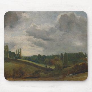 John Constable - Bergholt del este Alfombrilla De Ratón