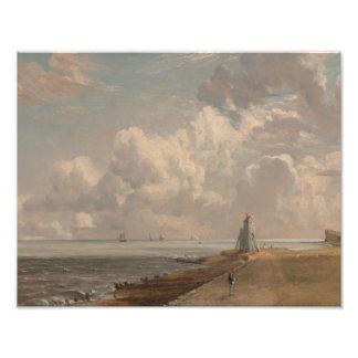John Constable - Harwich - el faro bajo Arte Con Fotos