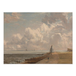 John Constable - Harwich - el faro bajo Arte Fotográfico