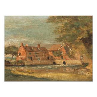 John Constable - molino de Flatford Foto