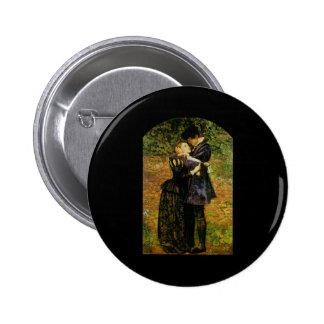 John Everett Millais Isabel hugonote Chapa Redonda De 5 Cm
