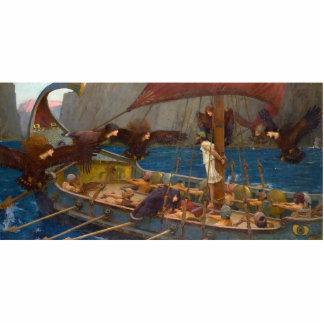 John William Waterhouse - Ulises y las sirenas Esculturas Fotograficas