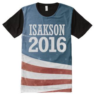 Johnny Isakson 2016 Camiseta Con Estampado Integral