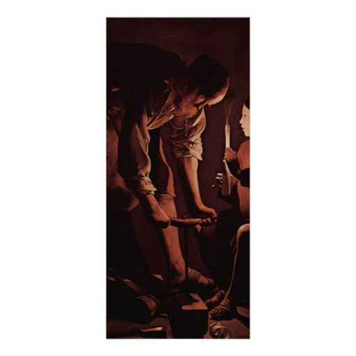 Jorte de la Tour- San José, el carpintero Lona Publicitaria