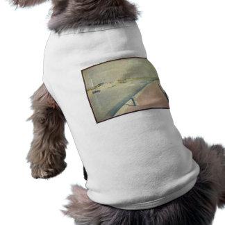 Jorte Seurat - el canal de Gravelines Pequeno-f Camiseta Sin Mangas Para Perro