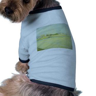 Jorte Seurat- el canal en Gravelines Camisas De Mascota