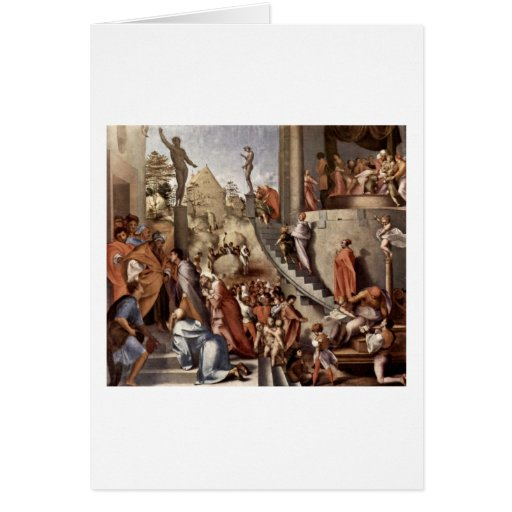 José en Egipto de Jacopo Pontormo Tarjetas