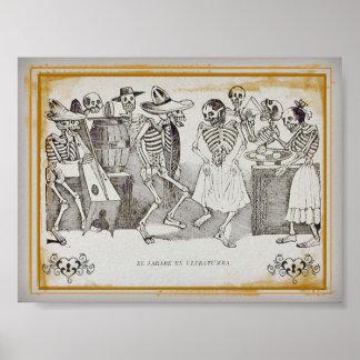 José Posada, impresión del ultratumba 7x5.30 del Póster