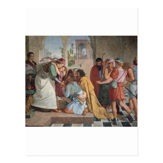 José se revela a sus hermanos - Cornelio Postal