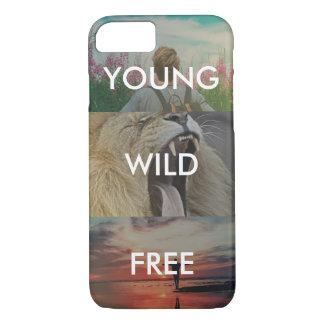 Joven, salvaje y libre funda iPhone 7