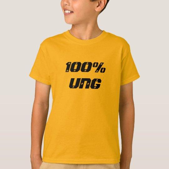 Jóvenes del 100% el Ung  el 100% Camiseta