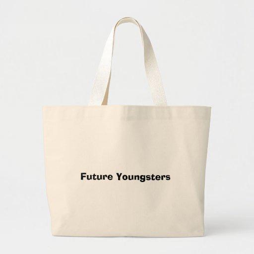 Jóvenes futuros bolsa de mano