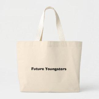 Jóvenes futuros bolsa tela grande