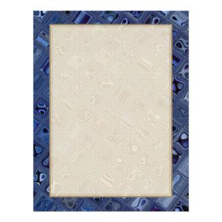 Joya azul folleto 21,6 x 28 cm