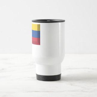 Joya de la bandera de Ecuador Taza De Viaje