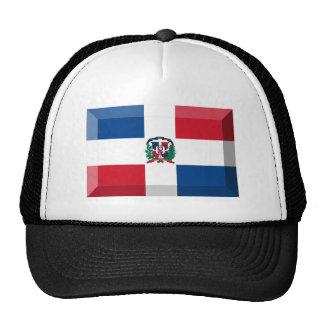 Joya de la bandera de la República Dominicana Gorras De Camionero