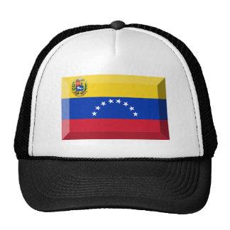 Joya de la bandera de Venezuela Gorros Bordados