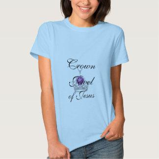 Joya de la corona de Jesús Camiseta-Amethyst Camisas