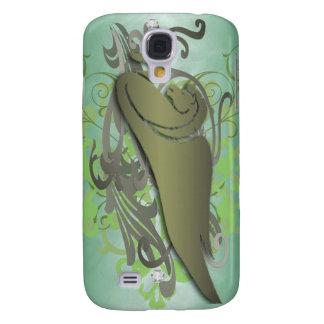 Joya urbana Pegaso 3g del verde de la fantasía Carcasa Para Galaxy S4
