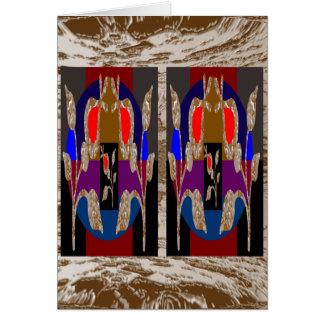Joyas decorativas de la alta energía tarjeta de felicitación