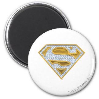 Joyas del azul de Supergirl Imán Redondo 5 Cm