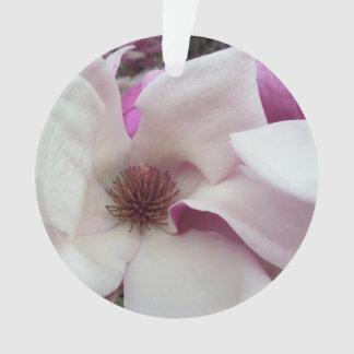 Joyería - colgante - floración de la magnolia de adorno