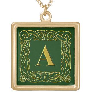 """Joyería - collar - """"A Dragón-Enmarcada Celtic """""""