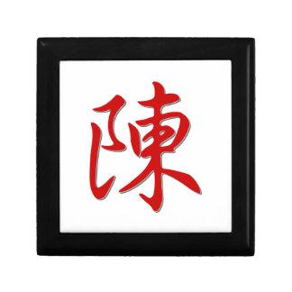 Joyero 陈 del apellido
