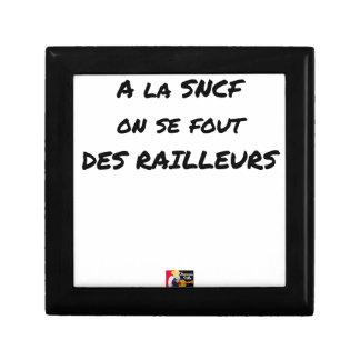 Joyero A la SNCF ÉL SE FOUT de los BROMISTAS - Juegos de