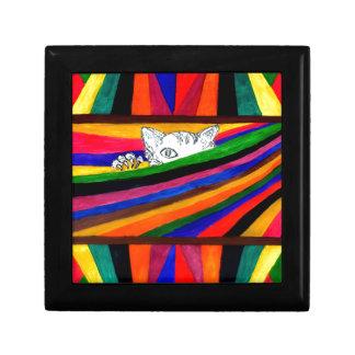 Joyero Abstracción rayada Design2