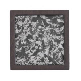 Joyero Acuarela negra en blanco