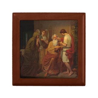 Joyero Agosto Malmstrom - Tobias que cura a su padre