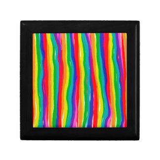 Joyero Arco iris pintados