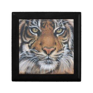 Joyero Arte del animal de la fauna del tigre