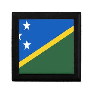 Joyero ¡Bajo costo! Bandera de Solomon Island