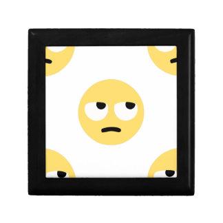 Joyero balanceo del ojo del emoji