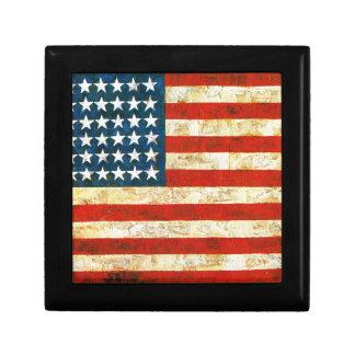 Joyero Bandera americana