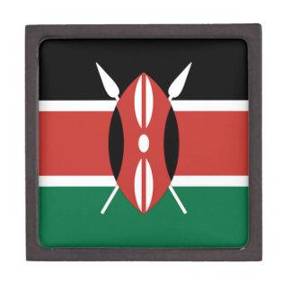 Joyero Bandera de Kenia