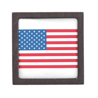 Joyero Barras y estrellas de la bandera de los E.E.U.U.