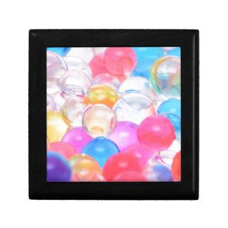 Joyero bolas transparentes