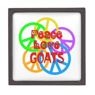 Joyero Cabras del amor de la paz