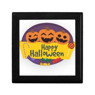 Joyero Calabaza del feliz Halloween
