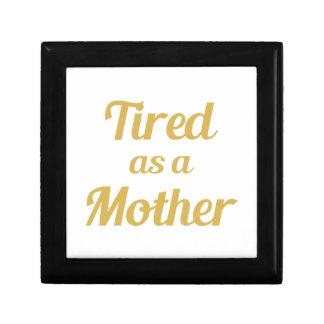 Joyero Cansado como madre