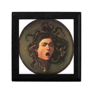 Joyero Caravaggio - medusa - ilustraciones italianas