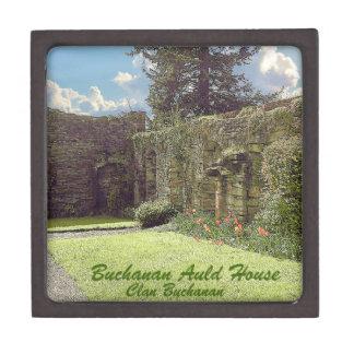 Joyero Casa vieja de Buchanan - clan Buchanan