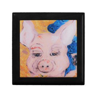 Joyero Cerdo de Blue Ribbon