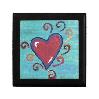 Joyero Colección roja de los corazones