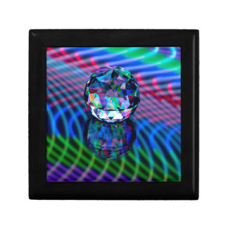Joyero Color de facetas en vidrio