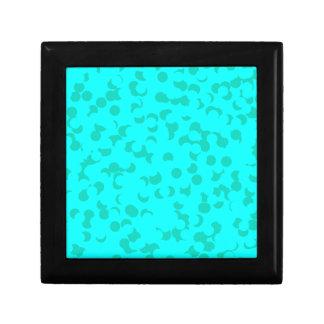 Joyero Confeti de la menta verde